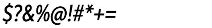 Aspira XXNar Medium Italic Font OTHER CHARS