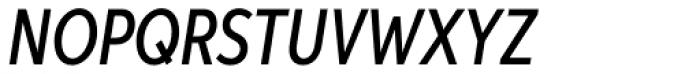 Aspira XXNar Medium Italic Font UPPERCASE