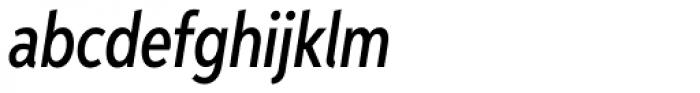 Aspira XXNar Medium Italic Font LOWERCASE