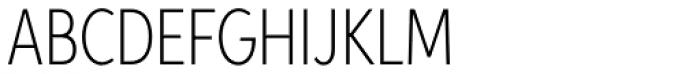 Aspira XXNar Thin Font UPPERCASE