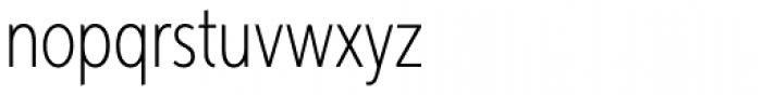 Aspira XXNar Thin Font LOWERCASE