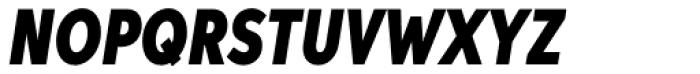 Aspira XXXNar Black Italic Font UPPERCASE
