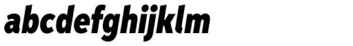 Aspira XXXNar Black Italic Font LOWERCASE
