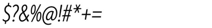 Aspira XXXNar Light Italic Font OTHER CHARS