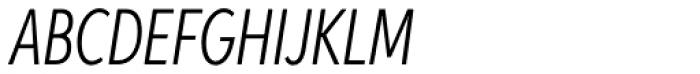 Aspira XXXNar Light Italic Font UPPERCASE