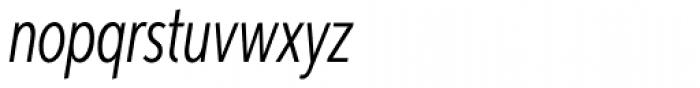 Aspira XXXNar Light Italic Font LOWERCASE