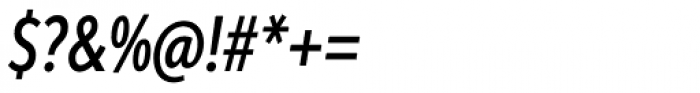 Aspira XXXNar Medium Italic Font OTHER CHARS