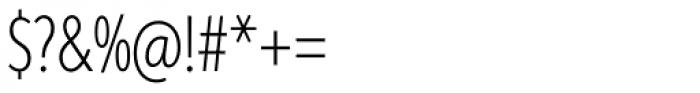 Aspira XXXNar Thin Font OTHER CHARS