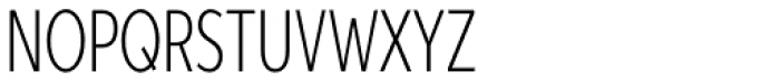 Aspira XXXNar Thin Font UPPERCASE