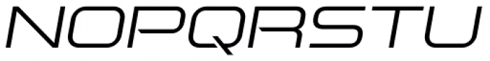Aspire Light Oblique Font UPPERCASE