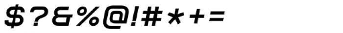 Aspirin Advance Bold Italic Font OTHER CHARS