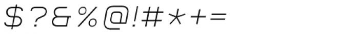 Aspirin Advance Light Italic Font OTHER CHARS