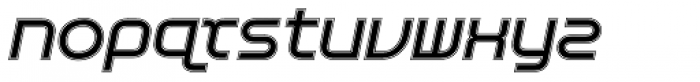 Aspirin Advance Varsity Italic Font LOWERCASE