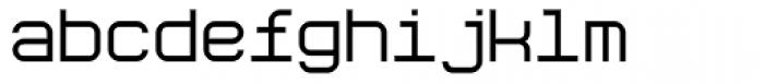 Aspirin Regular Font LOWERCASE