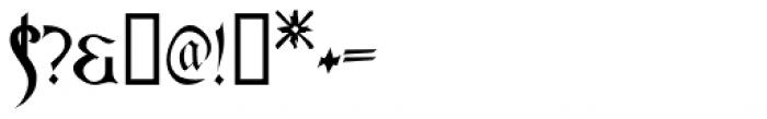 Asrafel Font OTHER CHARS