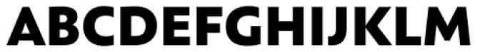 Assemblage Black Font UPPERCASE