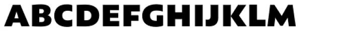 Assemblage Black Font LOWERCASE