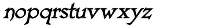 Astaire Pro Bold Italic Font LOWERCASE