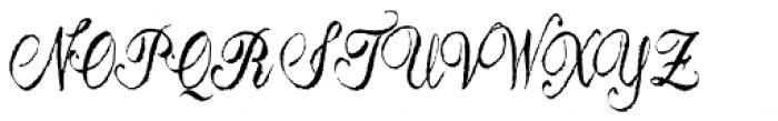Astara Font UPPERCASE
