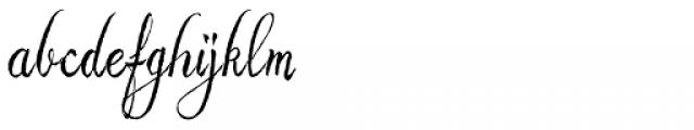 Astara Font LOWERCASE