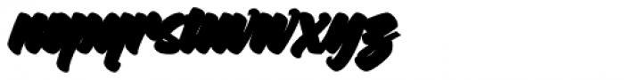 Asterik Outline Font LOWERCASE