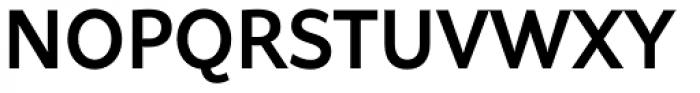 Asterisk Sans Pro Bold Font UPPERCASE