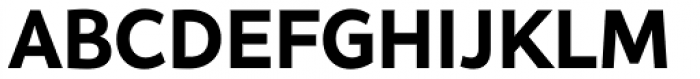 Asterisk Sans Pro Extra Bold Font UPPERCASE