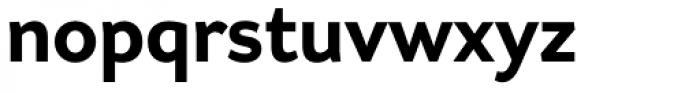 Asterisk Sans Pro Extra Bold Font LOWERCASE