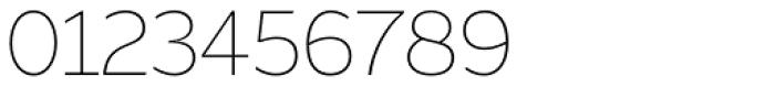 Asterisk Sans Pro Extra Light Font OTHER CHARS