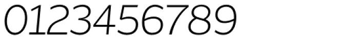 Asterisk Sans Pro Light Italic Font OTHER CHARS