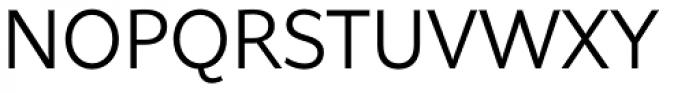Asterisk Sans Pro Regular Font UPPERCASE
