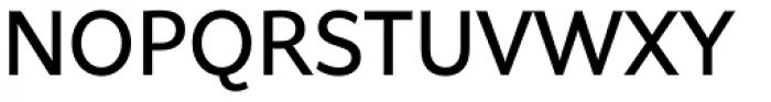 Asterisk Sans Pro Semi Bold Font UPPERCASE
