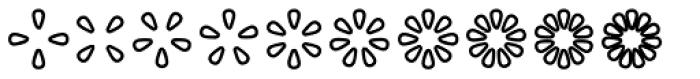 Asterisp Zeta Font UPPERCASE