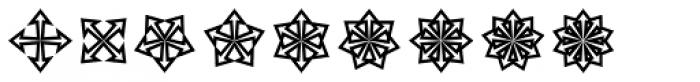 Asterisp Zeta Font LOWERCASE