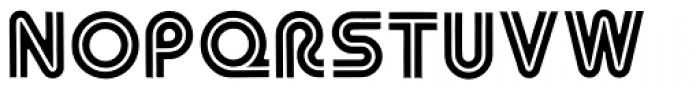 Asteroid Font UPPERCASE