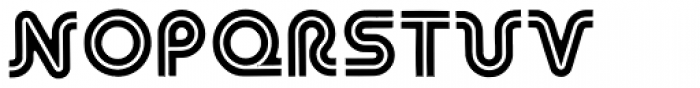 Asteroid Font LOWERCASE