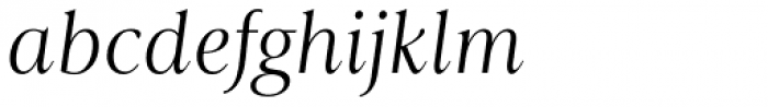 Astoria Classic Light Italic Font LOWERCASE