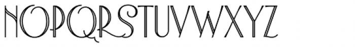 Astoria Titling Font UPPERCASE