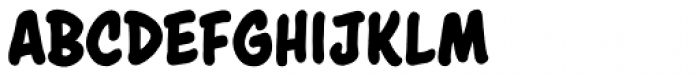 Astounder Round BB Bold Font UPPERCASE