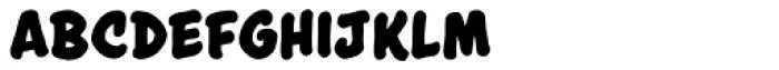 Astounder Round BB Bold Font LOWERCASE