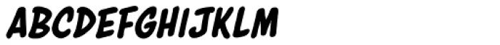 Astounder Round BB Italic Font LOWERCASE