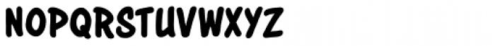 Astounder Round BB Font LOWERCASE