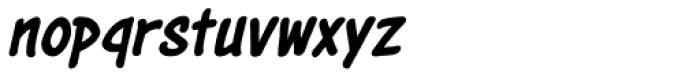 Astounder Round LC BB Italic Font LOWERCASE