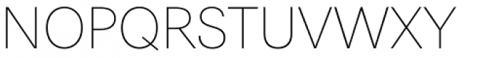 Astrid Grotesk Extra Light Font UPPERCASE