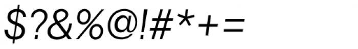 Astrid Grotesk Regular Italic Font OTHER CHARS