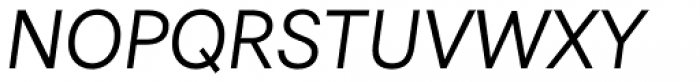 Astrid Grotesk Regular Italic Font UPPERCASE