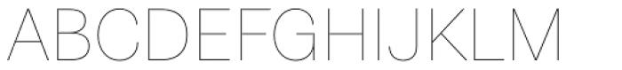 Astrid Grotesk Ultra Light Font UPPERCASE