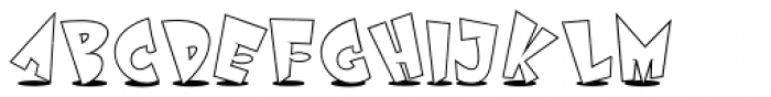 Astro Std White Font UPPERCASE