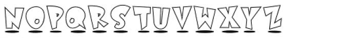 Astro Std White Font LOWERCASE
