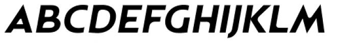Astrogator BB Bold Italic Font UPPERCASE